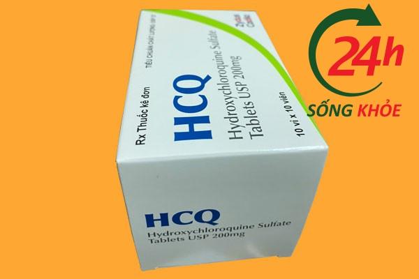 Thuốc HCQ 200mg (HydroxyCloroquine) giá bao nhiêu?