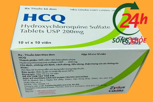 Cách sử dụng - Liều dùng của thuốc HCQ 200mg (HydroxyCloroquine)
