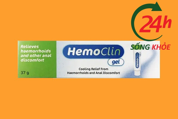Hình ảnh: Gel bôi trĩ Hemoclin