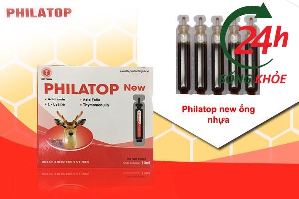 Hình ảnh Philatop new ống nhựa