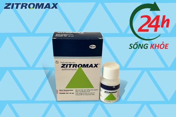 Hướng dẫn sử dụng Zithromax