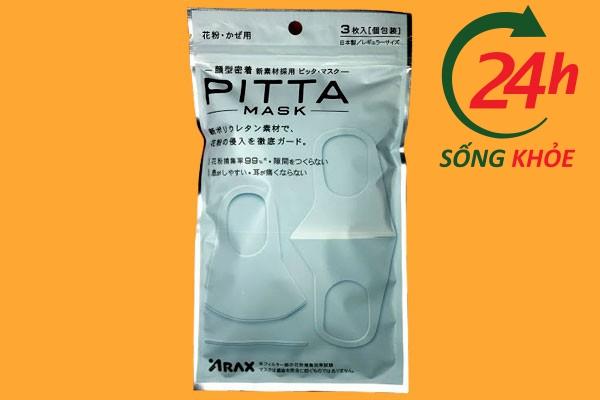 Chất liệu, thiết kế của khẩu trang Pitta Mask