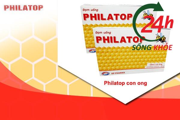 Philatop con ong có vị dễ dùng
