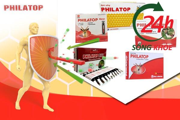 Thuốc bổ Philatop giúp tăng sức đề kháng