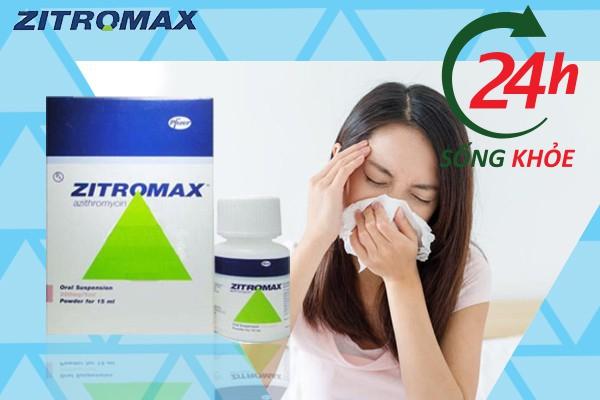Phụ nữ có thai không nên sử dụng thuốc Zithromax