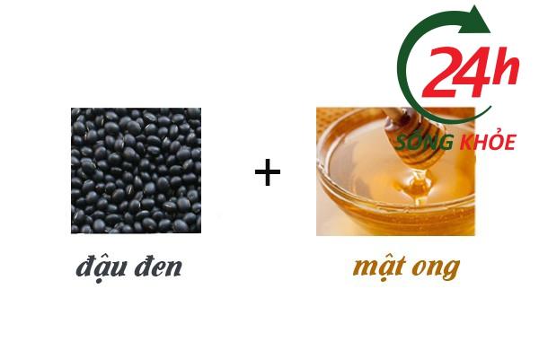 Sử dụng mật ong với đậu đen