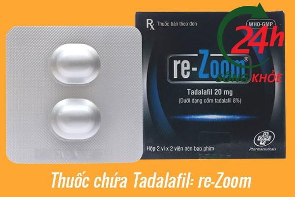Chế phẩm chứa Tadalafil: re-Zoom