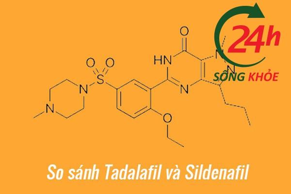 So sánh Tadalafil (Cialis) và Sildenafil (Viagra)