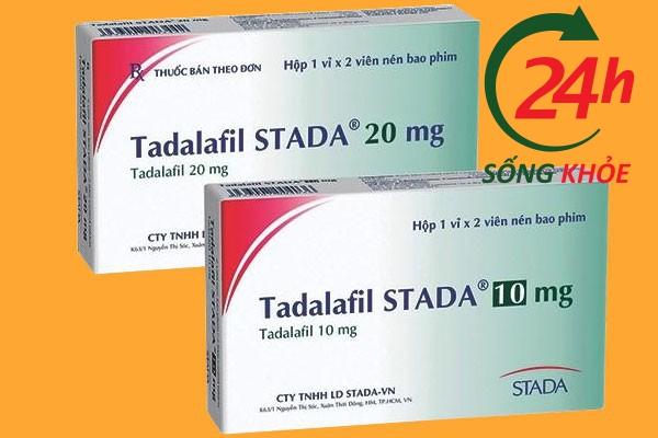 Tadalafil Stada 10mg và Tadalafil Stada 20mg