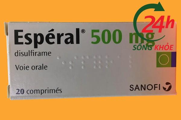 Lưu ý khi dùng Esperal 500mg
