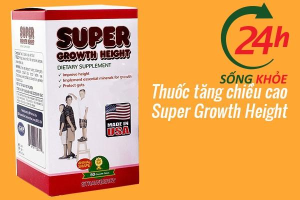 Thuốc tăng chiều cao Super Growth Height dành cho người trưởng thành