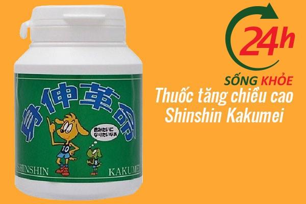 Viên uống tăng chiều cao Shinshin Kakumei cho người trưởng thành của Nhật