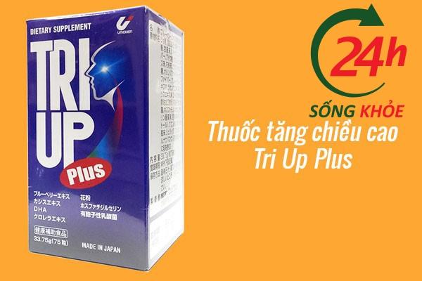 Thuốc tăng trưởng chiều cao cho trẻ của Nhật Tri Up Plus
