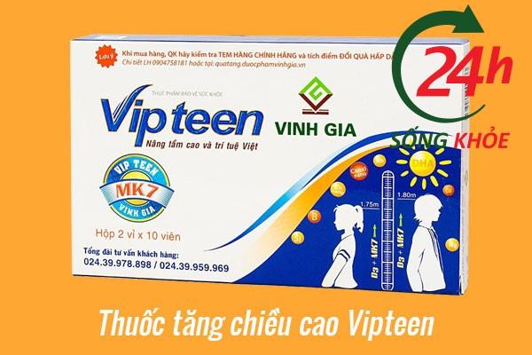 Thuốc tăng trưởng chiều cao Vipteen