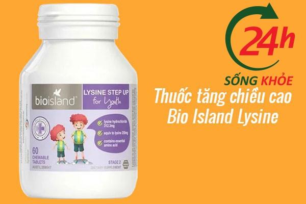 Viên uống tăng chiều cao Bio Island Lysine