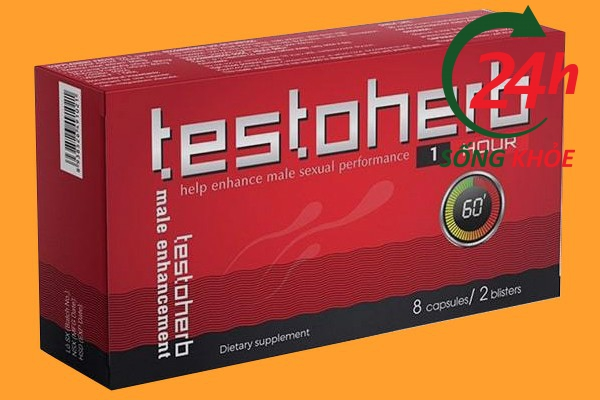 Hình ảnh thuốc tăng cường sinh lý nam Testoherb 1hour
