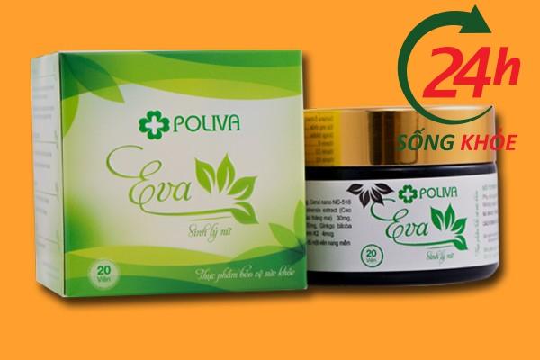 Poliva Eva Plus - Viên uống tăng cường sinh lý nữ