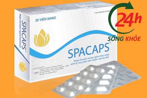 Thuốc Spacaps tăng cường sinh lý nữ tốt nhất hiện nay