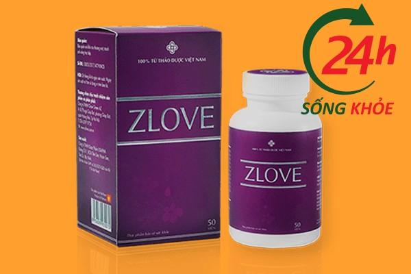 Thuốc tăng cường sinh lý nữ ZLOVE