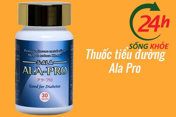 Thuốc điều trị tiểu đường Ala Pro