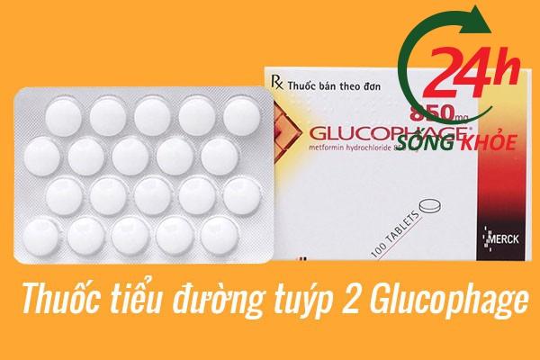 Thuốc tiểu đường tuýp 2 Glucophage