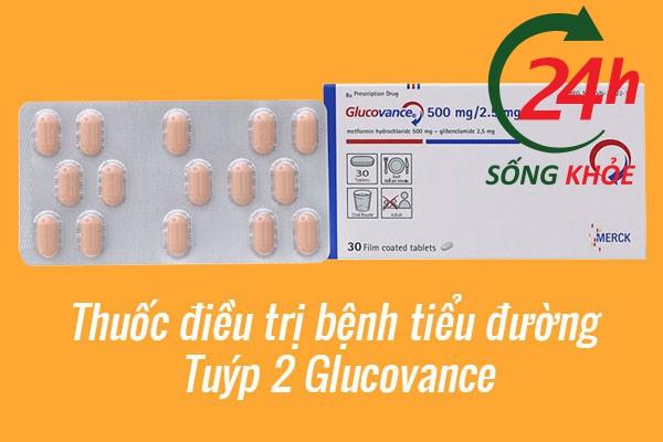 Thuốc điều trị bệnh tiểu đường tuýp 2 Glucovance