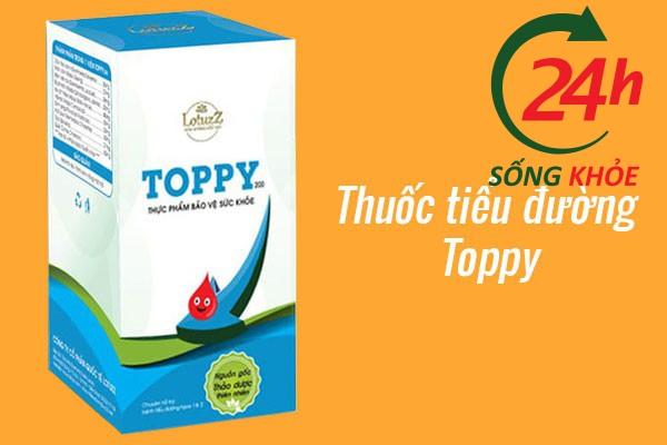 Thuốc tiểu đường Toppy