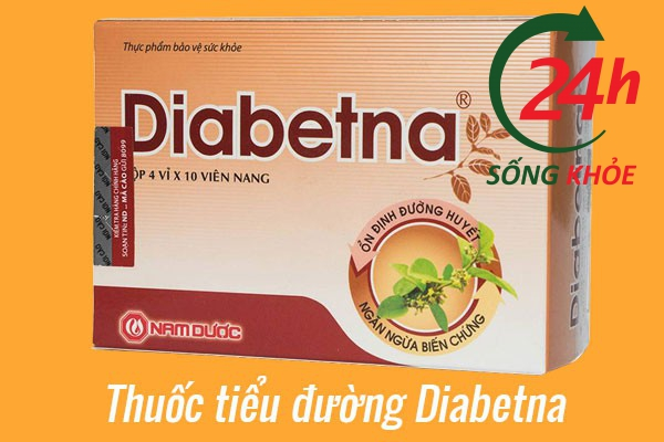 Thuốc tiểu đường Diabetna