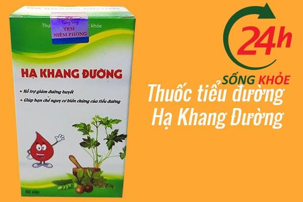Thuốc bổ cho người tiểu đường Hạ Khang Đường