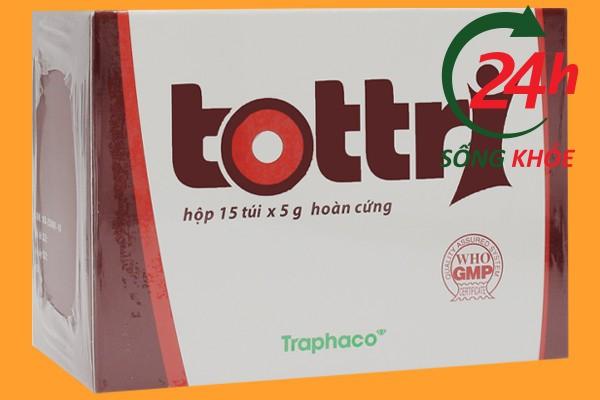 Thuốc trị bệnh trĩ Tottri giá bao nhiêu tiền?