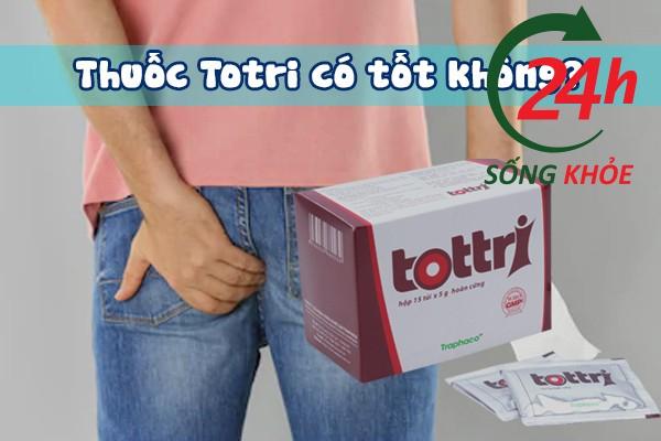 Viên nang Tottri có tốt không?