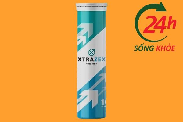 Viên sủi tăng cường sinh lý Xtrazex Formen của Nga