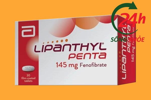 Giá bán của Lipanthyl