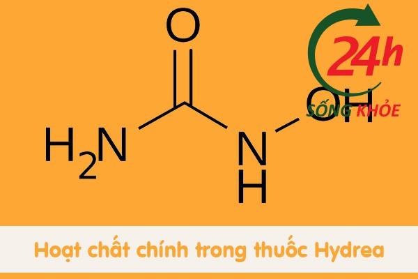 Thành phần chính trong thuốc Hydrea là Hydroxycarbamide