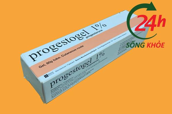 Progestogel 1% là thuốc gì?