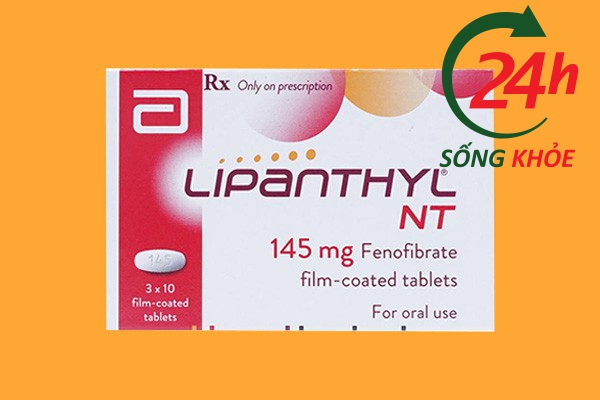 Tác dụng của Lipanthyl