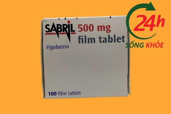 Liều dùng Sabril