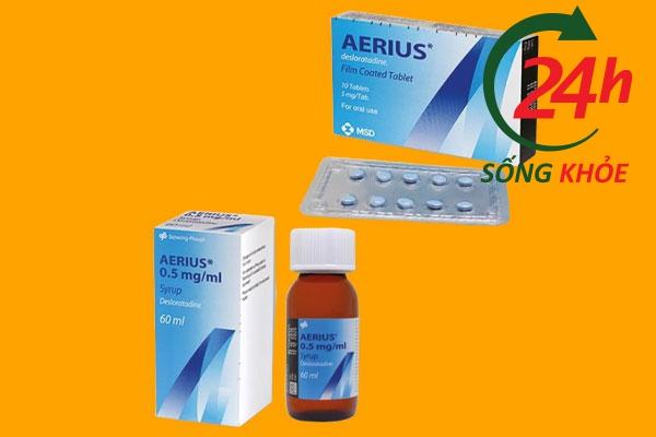 Thuốc dị ứng Aerius