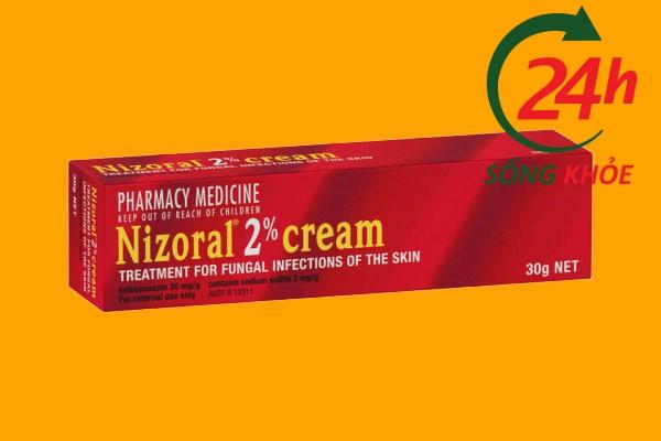 Thuốc điều trị nấm Nizoral cream 2%