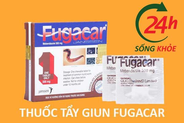 Fugacar là thuốc gì?