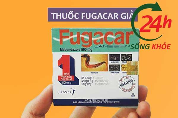 Làm thế nào để nhận biết Fugacar giả