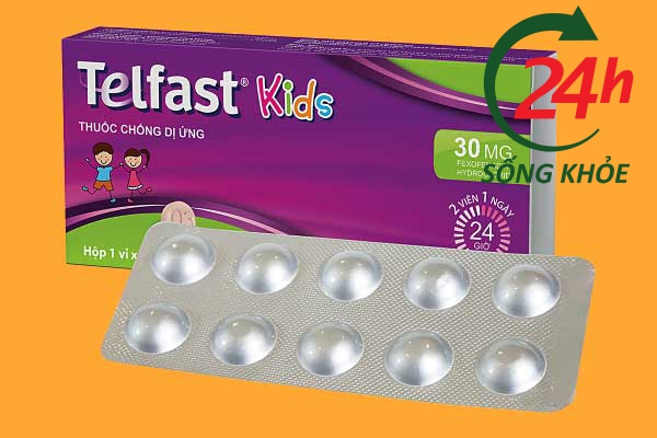 Thuốc Telfast Kids 30mg