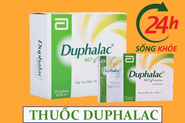 Duphalac là thuốc gì?
