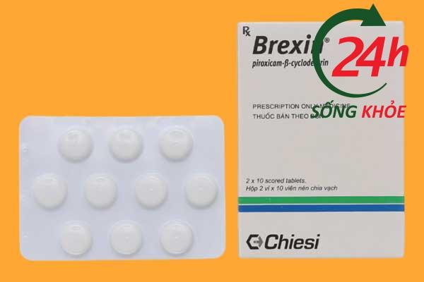 Brexin 20mg là thuốc gì?