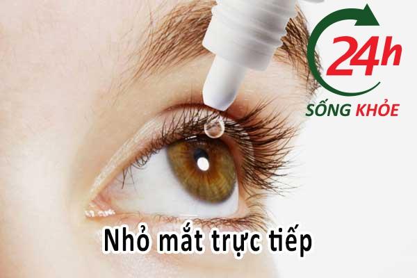 Cách dùng refresh tears