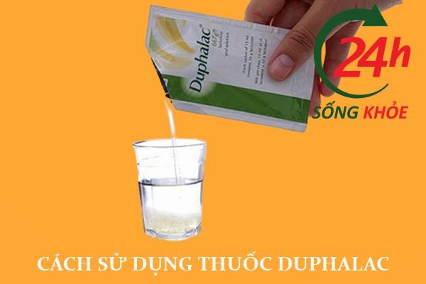 Cách sử dụng Duphalac