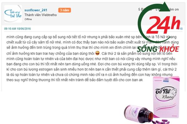 Review Tố Nữ Khang