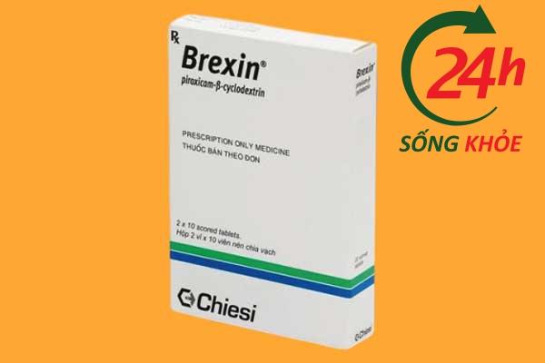 Brexin có thể tương tác với những thuốc nào?