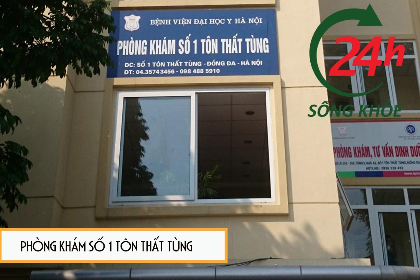 Phòng khám số 1 Tôn Thất Tùng bệnh viện đại học Y Hà Nội
