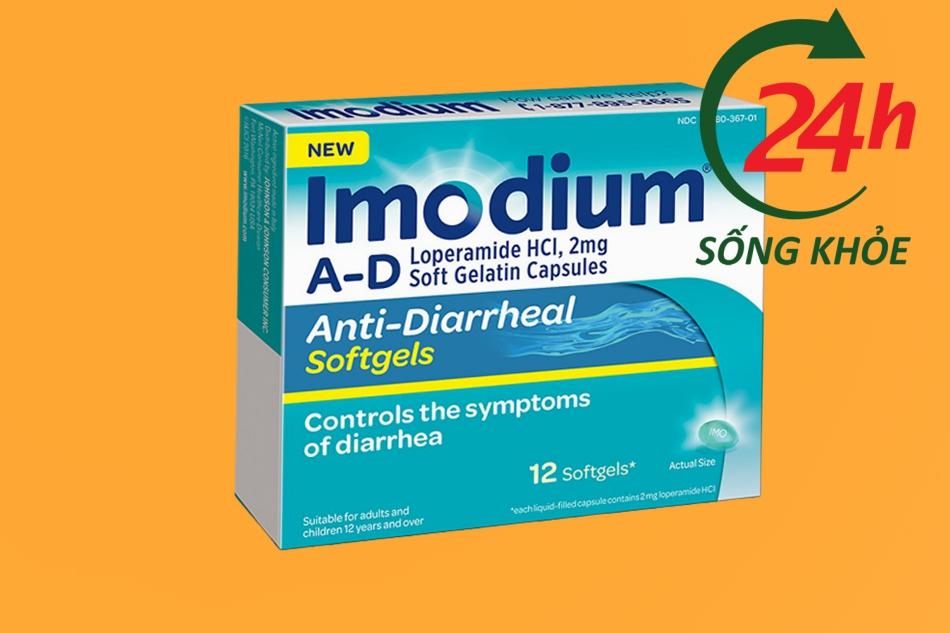 Thuốc Imodium A – D (Anti – Diarrheal) Softgels